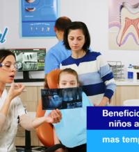 Beneficios de llevar a los niños al ortodoncista: mas temprano que tarde.