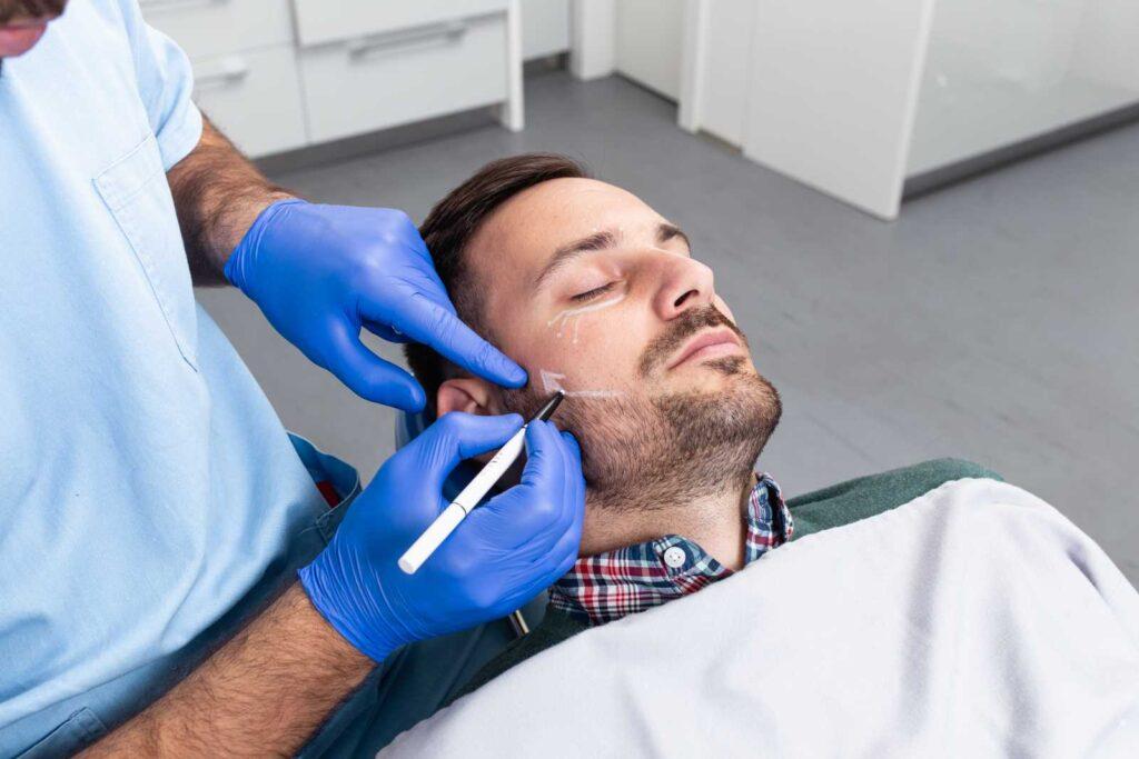 Tratamiento de Bichectomia en hombres
